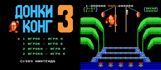 Donkey Kong 3 (W) [!] PSCD.RU