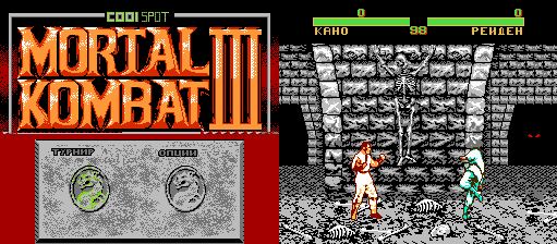 Mortal Kombat III (As) (Unl) Cool-Spot