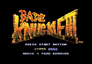 Bare Knuckle 3 (J)