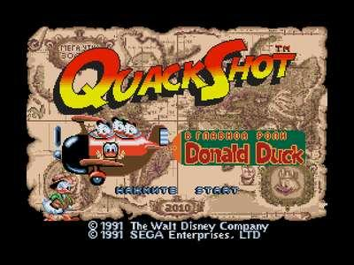 Quack Shot Starring Donald Duck (U) [!]